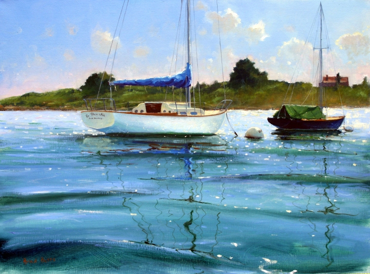 "From the Dory, 18""x24"", Oil On Canvas $5,000"