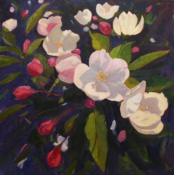 Crabapple 36 x 36 Oil on Canvas $10,000