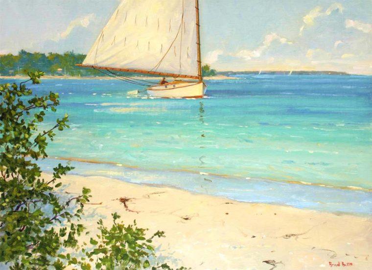 Coasting-Key-West-Oil-on-Linen-by-Brad-Betts-web